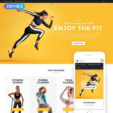 Website Template № 77081