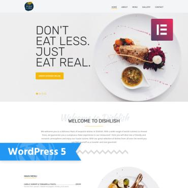 Template Cafenele și restaurante WordPress #77146