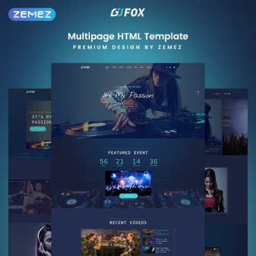 Website Template № 77217