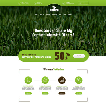Website Template № 77420