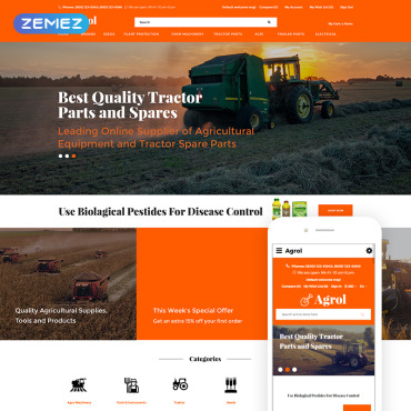 Website Template № 77487