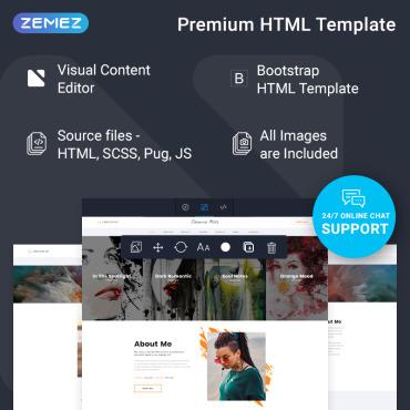 Template Artă și fotografie HTML, JS şi CSS #77733