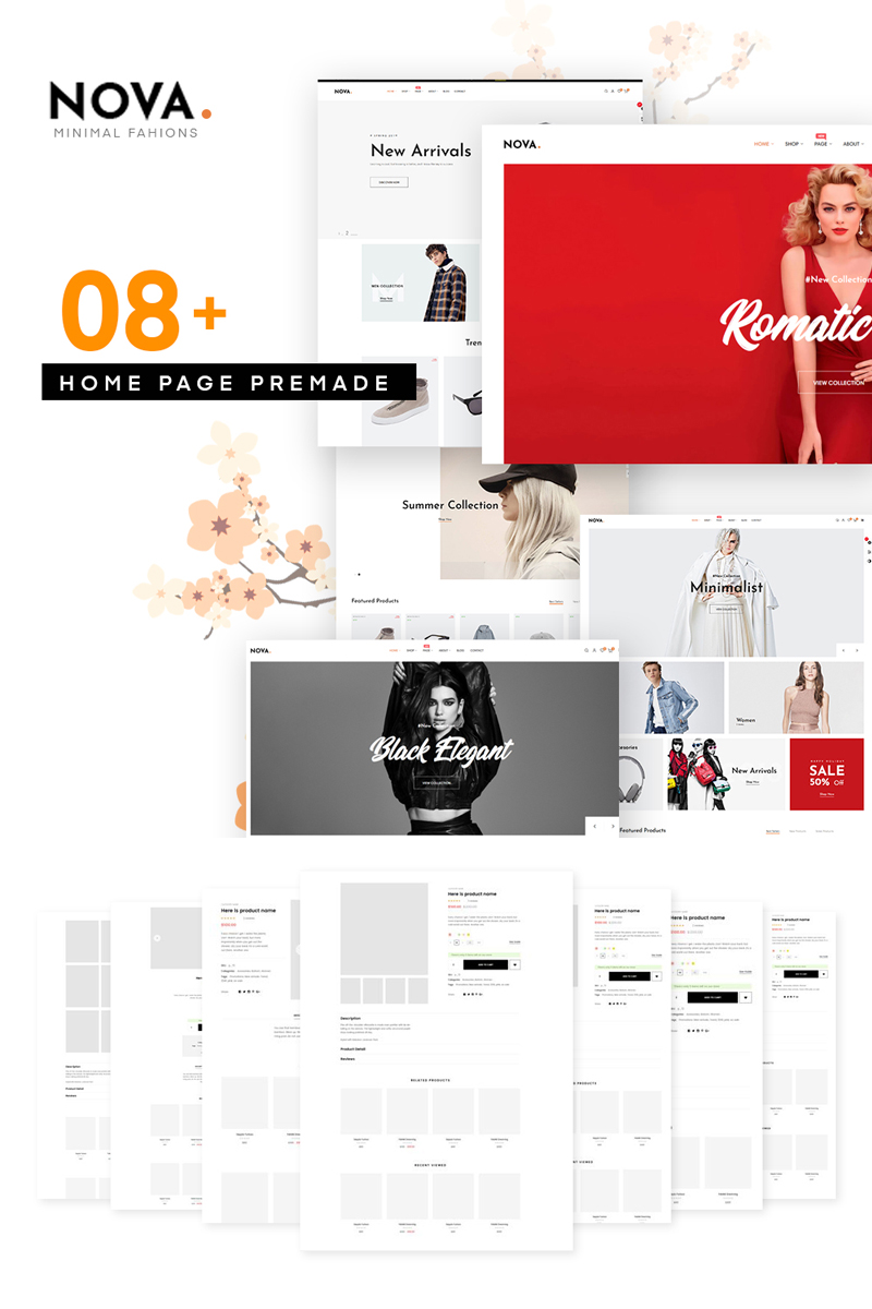 Nova - Fashion PrestaShop Theme