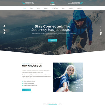 Template Turism WordPress #77832