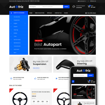 Website Template № 77856