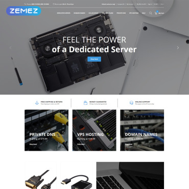 Website Template № 77895