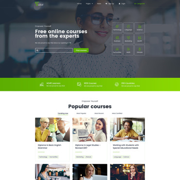 Website Template № 78116