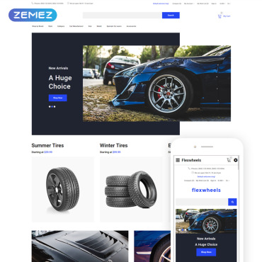 Website Template № 78247