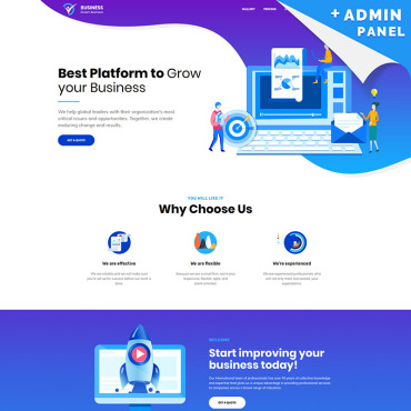 Website Template № 78303