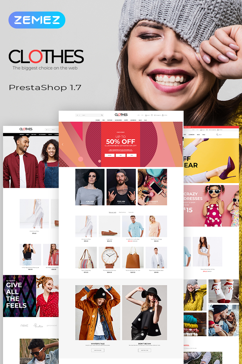 Template PrestaShop