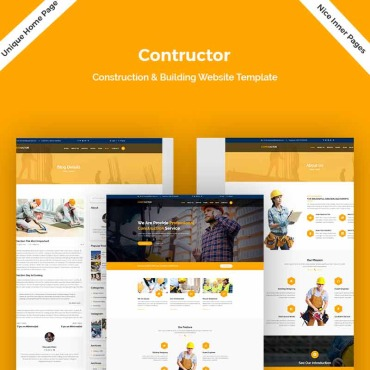 Website Template № 78400