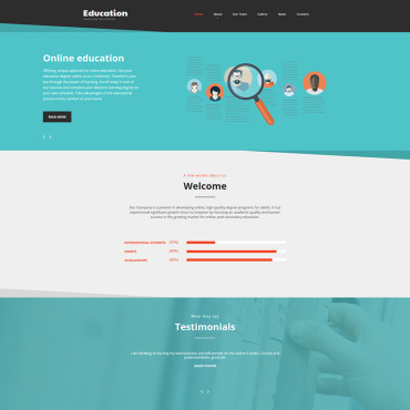 Website Template № 78465