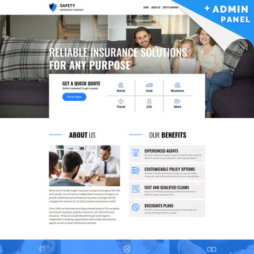 Website Template № 78534