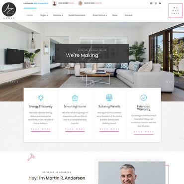 Template Industriale WordPress #78579