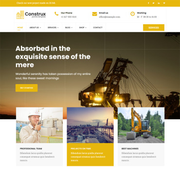 Website Template № 78584