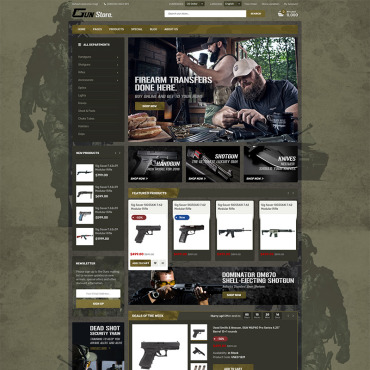 Template Divertisment WooCommerce #78754