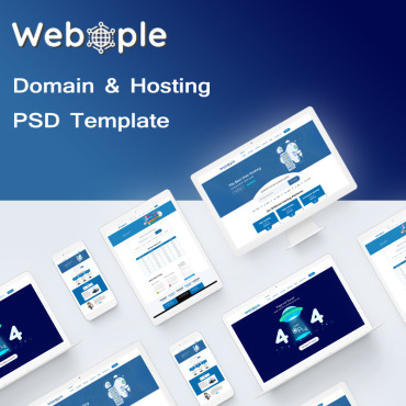Template Software PSD #78785