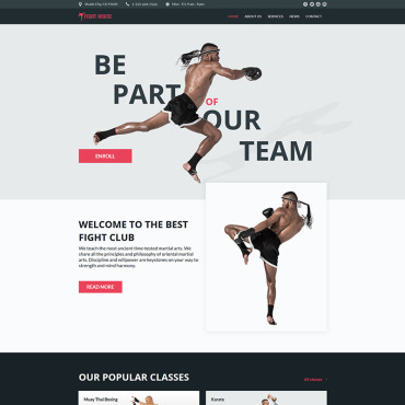 Website Template № 78906