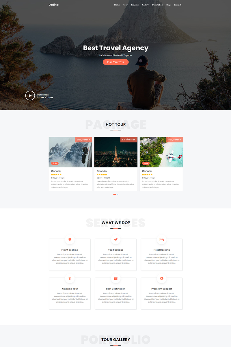 Landing Page Templates