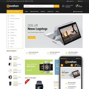 Website Template № 78970