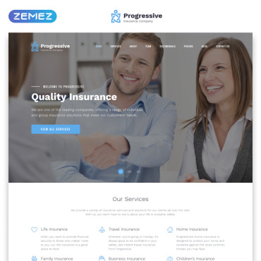 Template Afaceri Landing Page #78978