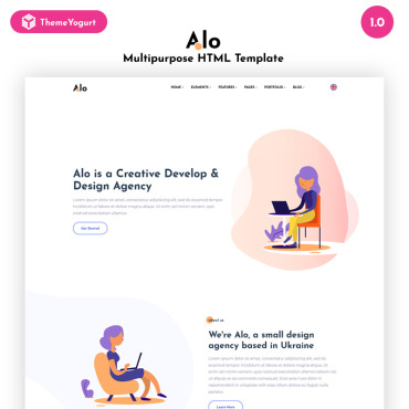 HTML/CSS Template #79036