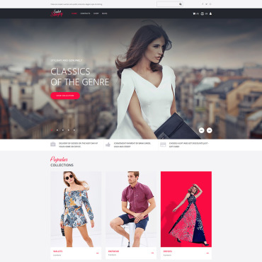 Template MotoCMS Ecommerce Templates #79037