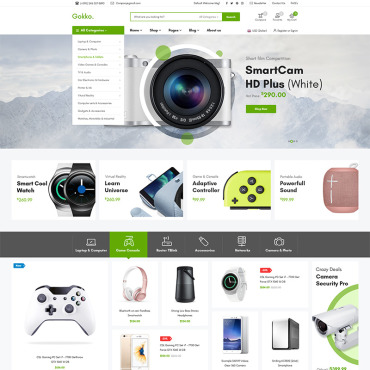 Template Electronice WooCommerce #79040