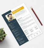 Resume Templates template 79067 - Buy this design now for only $17