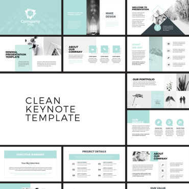 Template  Keynote Templates #79127