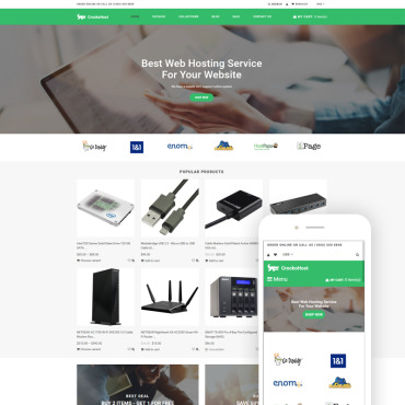 Template Software Shopify #79420