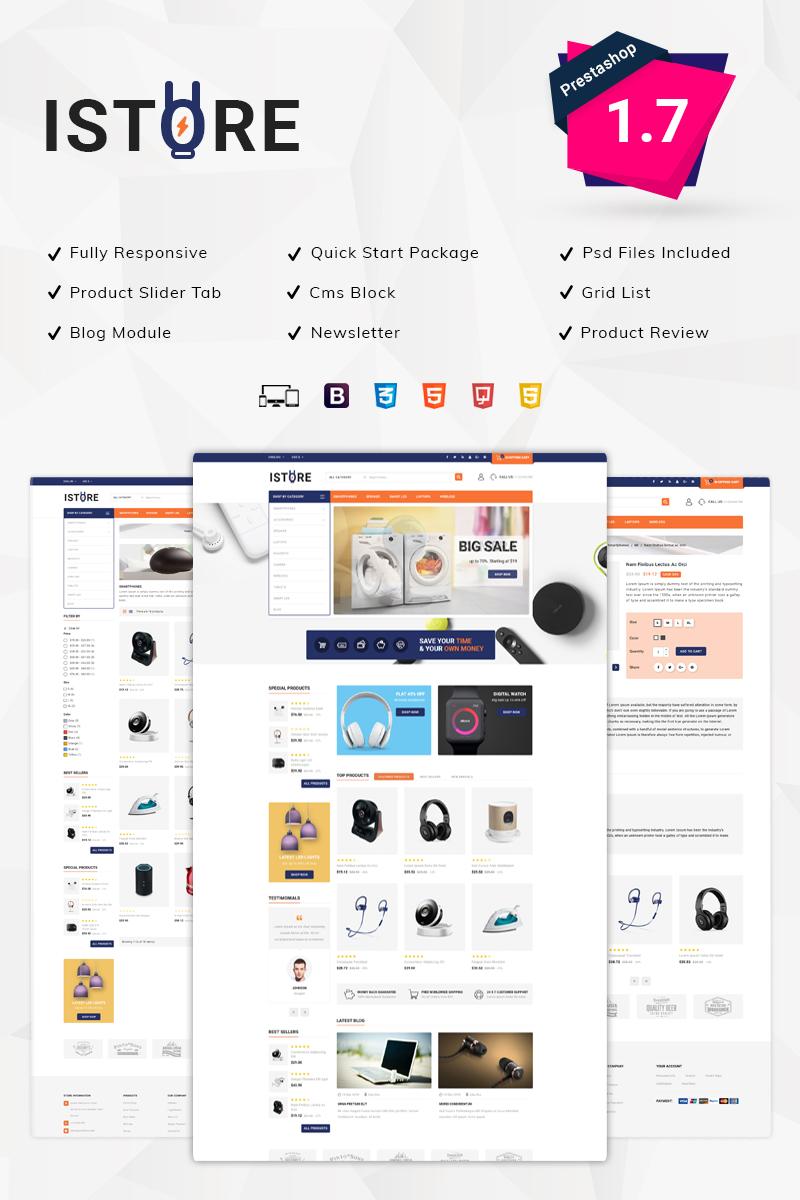 iStore Electronics PrestaShop Theme
