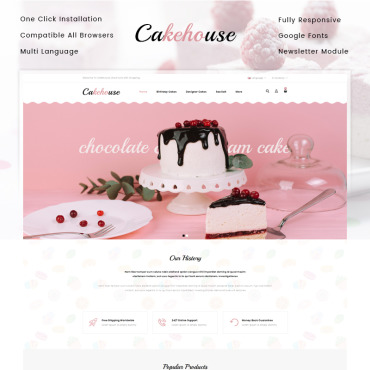 Website Template № 79576