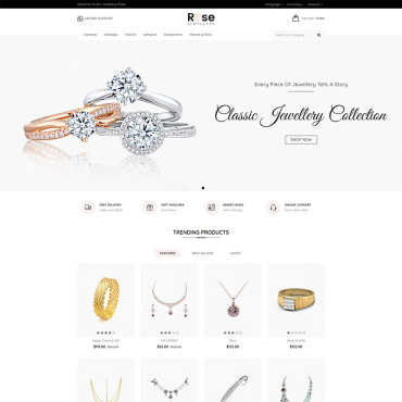 Website Template № 79600