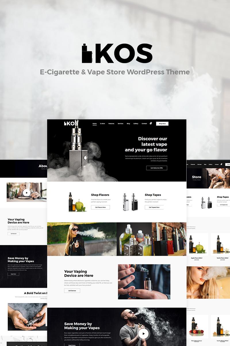 Ikos - E-Cigarette & Vape Store WordPress Theme