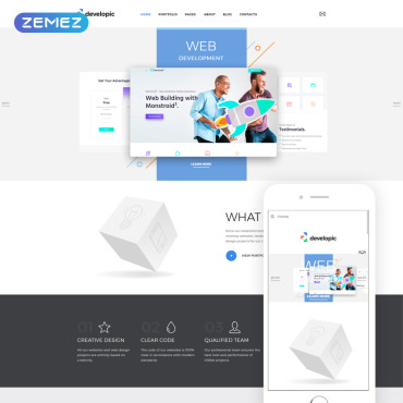 Website Template № 79838