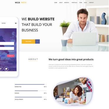 Template Web Design PSD #79915