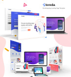 Landing Page Templates template 79951 - Buy this design now for only $22