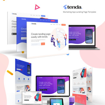 Template Software Landing Page #79951