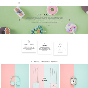 Photoshop PSD Template #79960