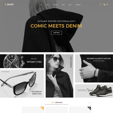 Template Modă WooCommerce #79962