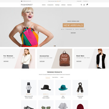 Website Template № 80002