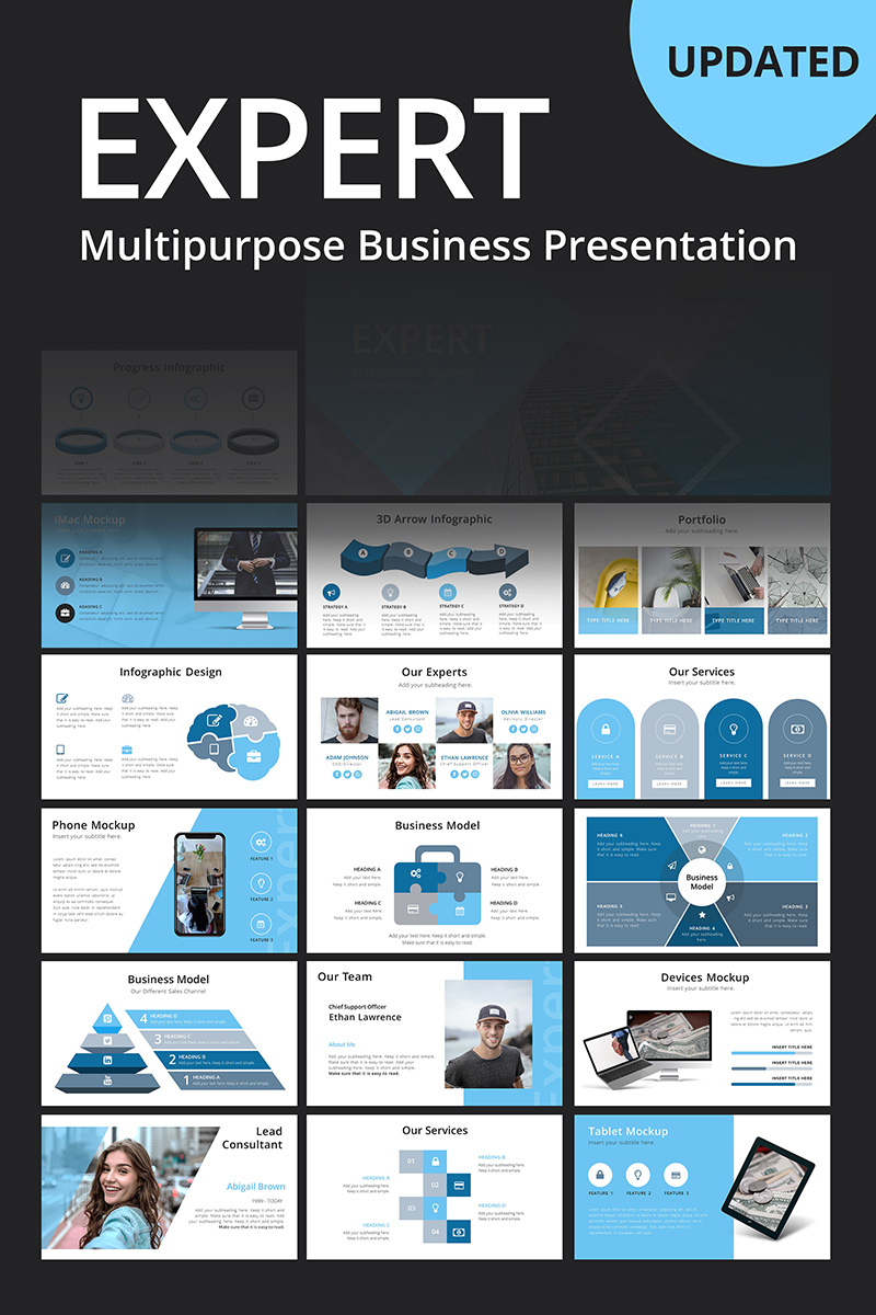 Template PowerPoint