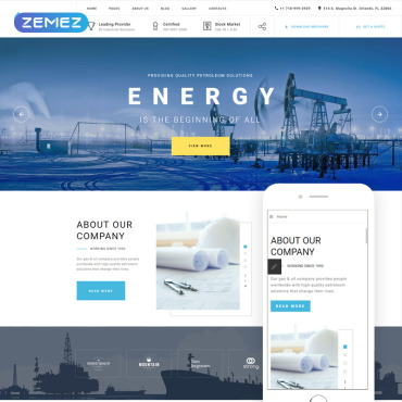 Template Industriale Joomla #80172