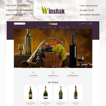 Website Template № 80195