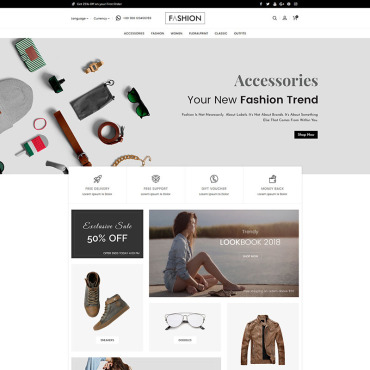 Website Template № 80250