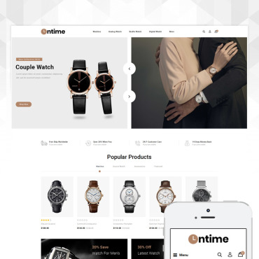 Website Template № 80371