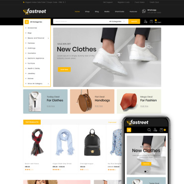 Template Electronice WooCommerce #80401