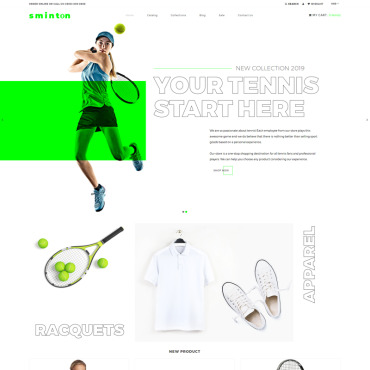 Website Template № 80485