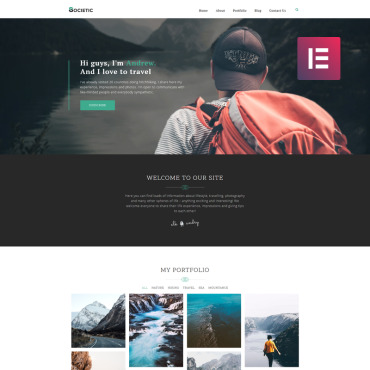 WordPress Template #80486